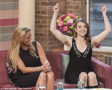 woman with the longest latino pubic hair puts it on display emer o toole on this morning can it ever be socially