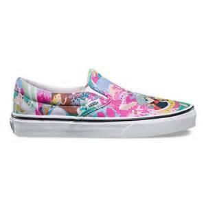 vans disney shoes disney slip on shop shoes at vans