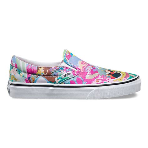 Vans Disney disney slip on shop shoes at vans