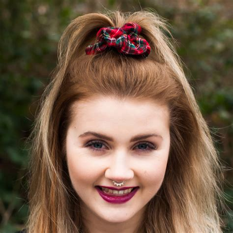 Scrunchies Hair Style For Black by Hair Scrunchies By Stephanieverafter Notonthehighstreet