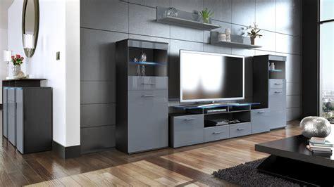 wall unit furniture living room wall unit living room furniture almada v2 black high
