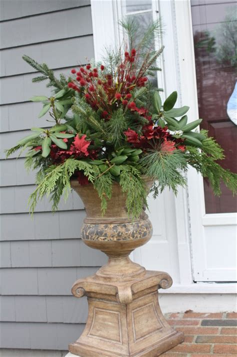 Urn Planters Cheap by Christmas Urn