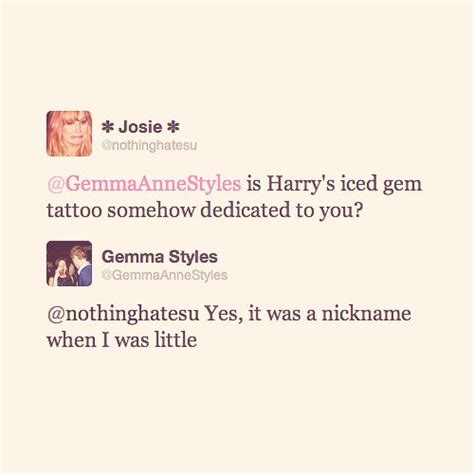 harry styles tattoo for sister 34 best ideas about gemma styles
