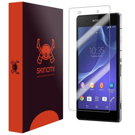 Sony Xperia Z 3d Screen Guard Protector Anti Gores Bagus Murah skinomi techskin sony xperia z2 screen protector