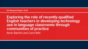 research papers on use of ict in education teachingenglish council