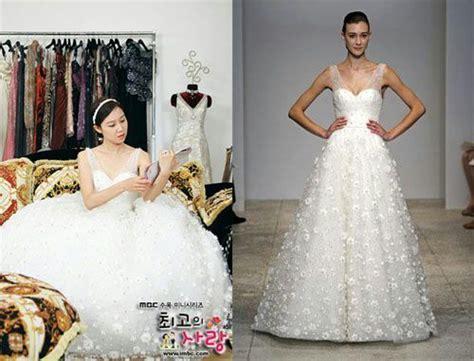 film korea sedih wedding dress 10 beautiful wedding dresses from kdramas k drama amino