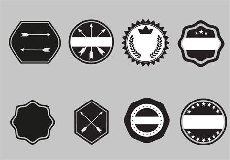 badge templates vector   vectors