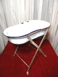 hungarian baby bathtub vintage antique hungarian baby bath tub with stand