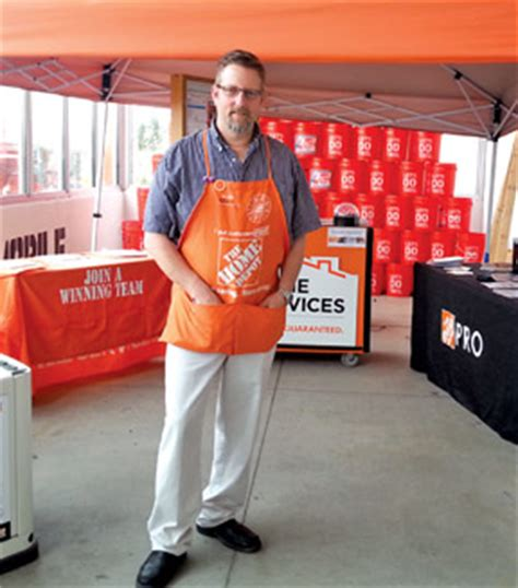 home depot employee wins national corporate award the