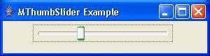 java swing slider thumb slider exle slider 171 swing components 171 java