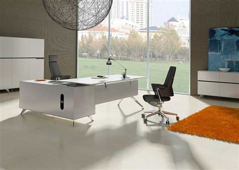 office desk with return unique furniture 400 collection white desk 481 with right