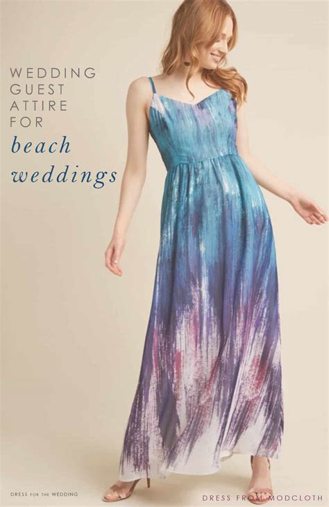Beach Wedding Guest Dresses   What to Wear to a Beach Wedding