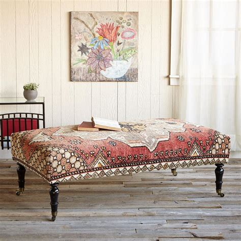 Carpet Ottoman Galatia Turkish Carpet Ottoman Robert Redford S Sundance Catalog