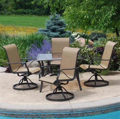 Backyard Creations Waterford Collection Backyard Creations 5 Somerset Dining Collection At