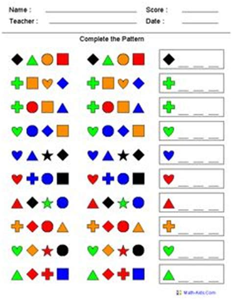 color pattern games online math pattern activities on pinterest by jenna boggs