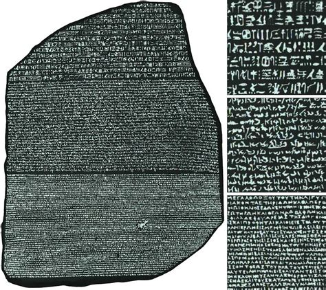 history of the rosetta stone facts for kids image gallery rosetta stone