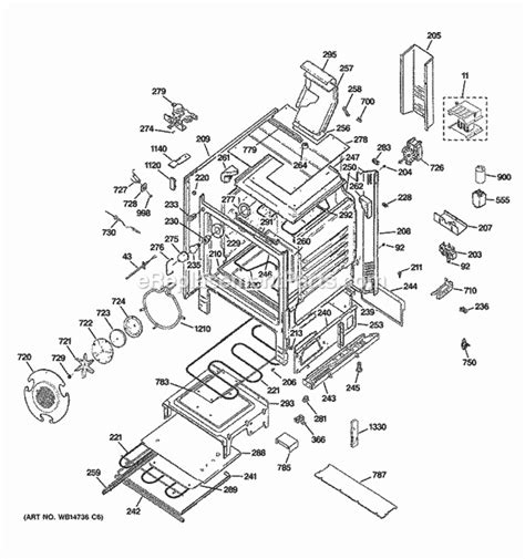 ge electric range parts diagram ge xl44 parts diagram highgett
