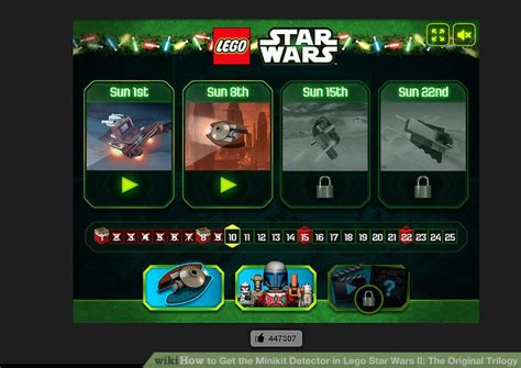 Get The Trilogy by How To Get The Minikit Detector In Lego Wars Ii The