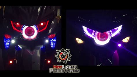 Lu Projector Gt 125 soul i 125 with dual color eye line by hotlights philippines