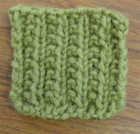 rib stitch knitting how to make farrow rib stitch pattern