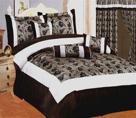 black floral comforter black gray white flocking floral comforter set queen bed