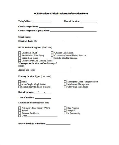 Critical Incident Report Format Dolap Magnetband Co School Critical Incident Plan Template