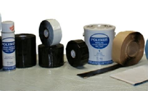 Polyken Wrapping polyken pipeline products from protection engineering