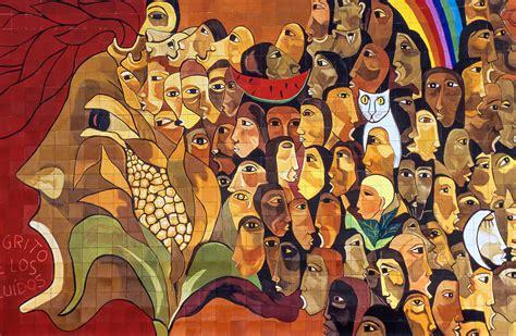 3d Murals oswaldo guayasamin mural ecuador globetrekimages flickr