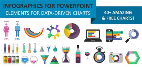 Free Charts And Infographics Powerpoint Templates Charts Free Powerpoint Infographic Template