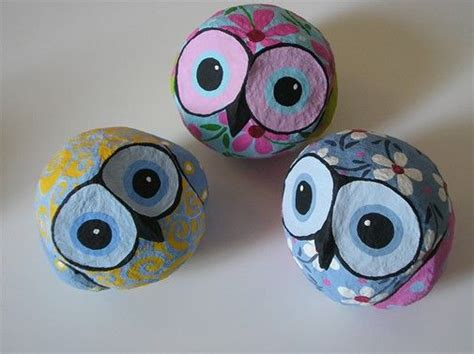 How To Make A Paper Mache Owl - paper mache owls by liat binyamini the color whimsy