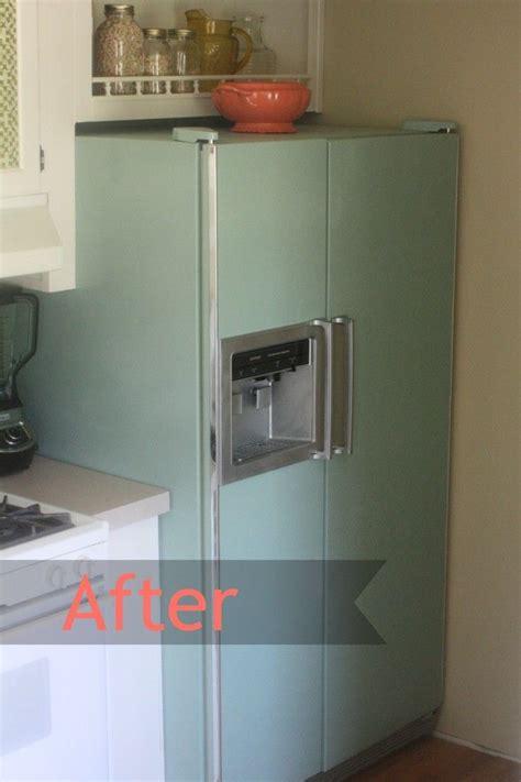 spray painting kitchen appliances 17 best ideas about fridge makeover on diy