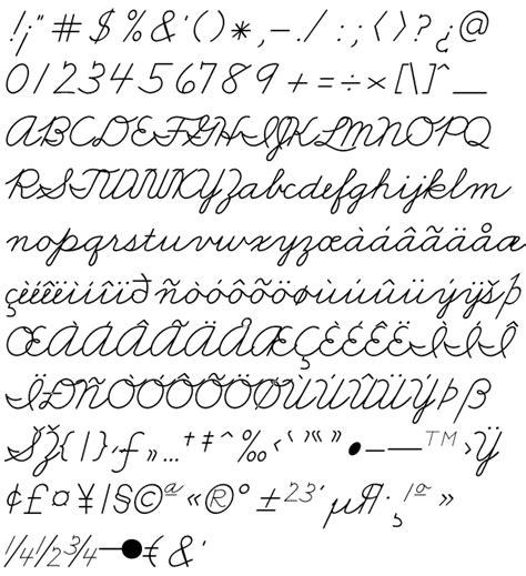 printable handwriting fonts all worksheets 187 french cursive writing worksheets