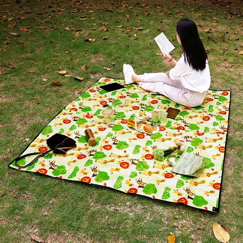 Outdoor Picnic Rug Large Waterproof Picnic Blanket Rug Travel Outdoor Cing Ebay
