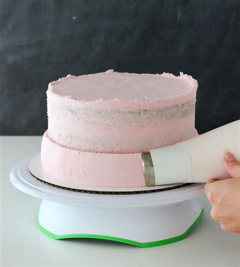 Cake Icing by How To A Smooth Cake With Buttercream