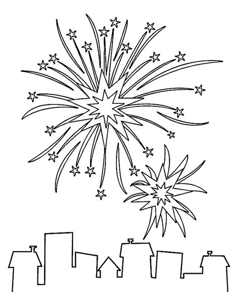 Coloring Pages Of Fireworks Az Coloring Pages Fireworks Coloring Pages Printable