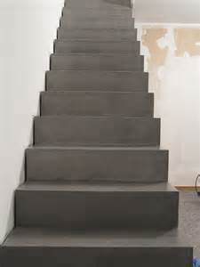 treppe beton beton unique beton cire beton cire betontreppe vor und