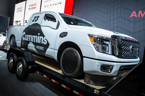 cummins nissan titan nissan and cummins made nissan titan xd triple nickel