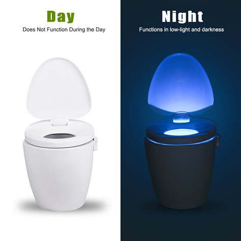 toilet light smart toilet seat bowl led motion sensor light night l