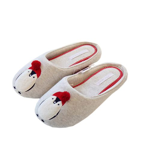 cute bedroom shoes cotton cute slippers women penguin animal home slippers