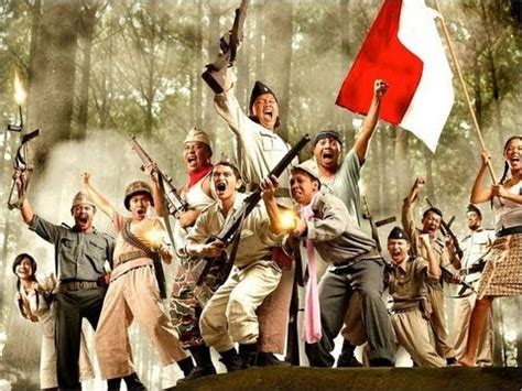 wallpaper animasi tentara sejarah indonesia merdeka youtube