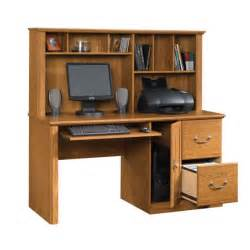 Orchard Computer Desk With Hutch By Sauder Sauder Orchard Computer Desk Hutch 401354