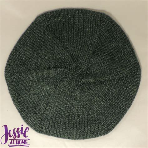 beret knitting pattern easy free basic beret at home