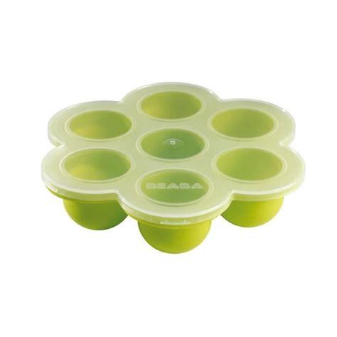 Silicon Tray Tupperware beaba multi portions silicone vert vert achat vente