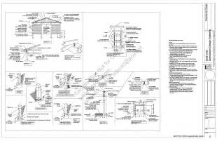 Free Pole Barn Plans Blueprints Free Sample Pole Barn Shed Plan Download G398 12 X 36