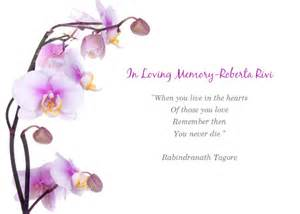 in loving memory templates memorial service for roberta invitations cards