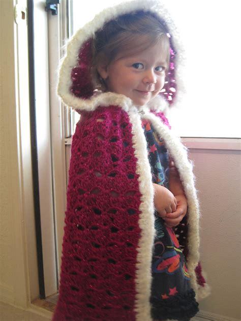 free pattern hooded cape fairy tale crochet free patterns grandmother s pattern