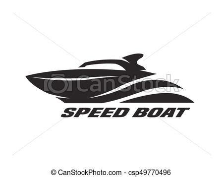 speed boat logo speed boat monochrome logo speed boat monochrome logo