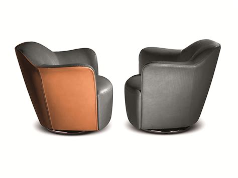 poltrona frau leather aida tanned leather armchair by poltrona frau design