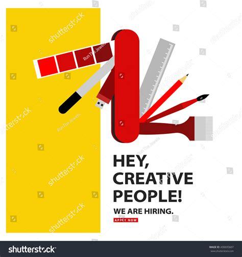 layout artist hiring cavite we hiring graphic designer artist swiss stock vector