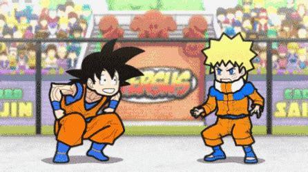 Images Goku Vs Naruto Gif | goku vs naruto gifs find share on giphy